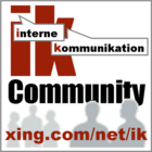 IK - Interne Kommunikation (internal communications)