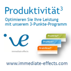 Produktivitätswerk von immediate effects