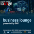 business lounge presented by SAP