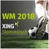 WM 2018 - der offizielle XING Stammtisch
