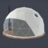 Glamping - Kuppelzelte