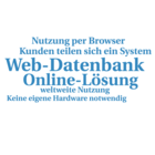Web-Datenbank - Lösungen basierend auf Baukasten-Systemen