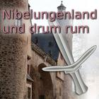Nibelungenland - mit Darmstadt, Frankfurt, Heidelberg, Mannheim und angrenzend