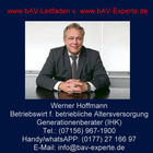 bAV-Leitfaden.de von bAV-Experte.de - Leitfaden betriebliche Altersversorgung Arbeitgeber Personalabt. HR-Berater Steuerberater