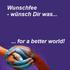 Wunschfee - wünsch Dir was...