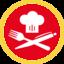Foodregio icon rot rand marketingmenü 4c